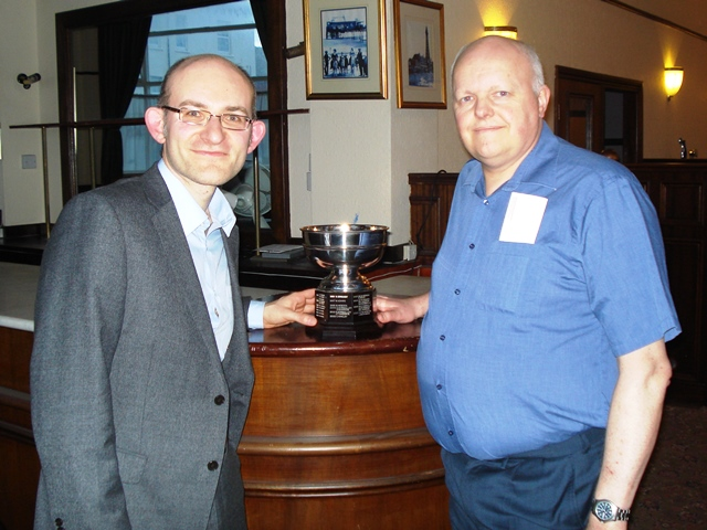 GM Matthew Sadler and Simon Woodcock